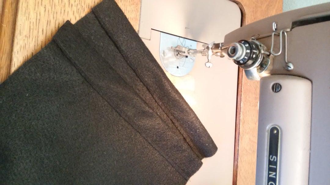 Sew Drawstring Edge