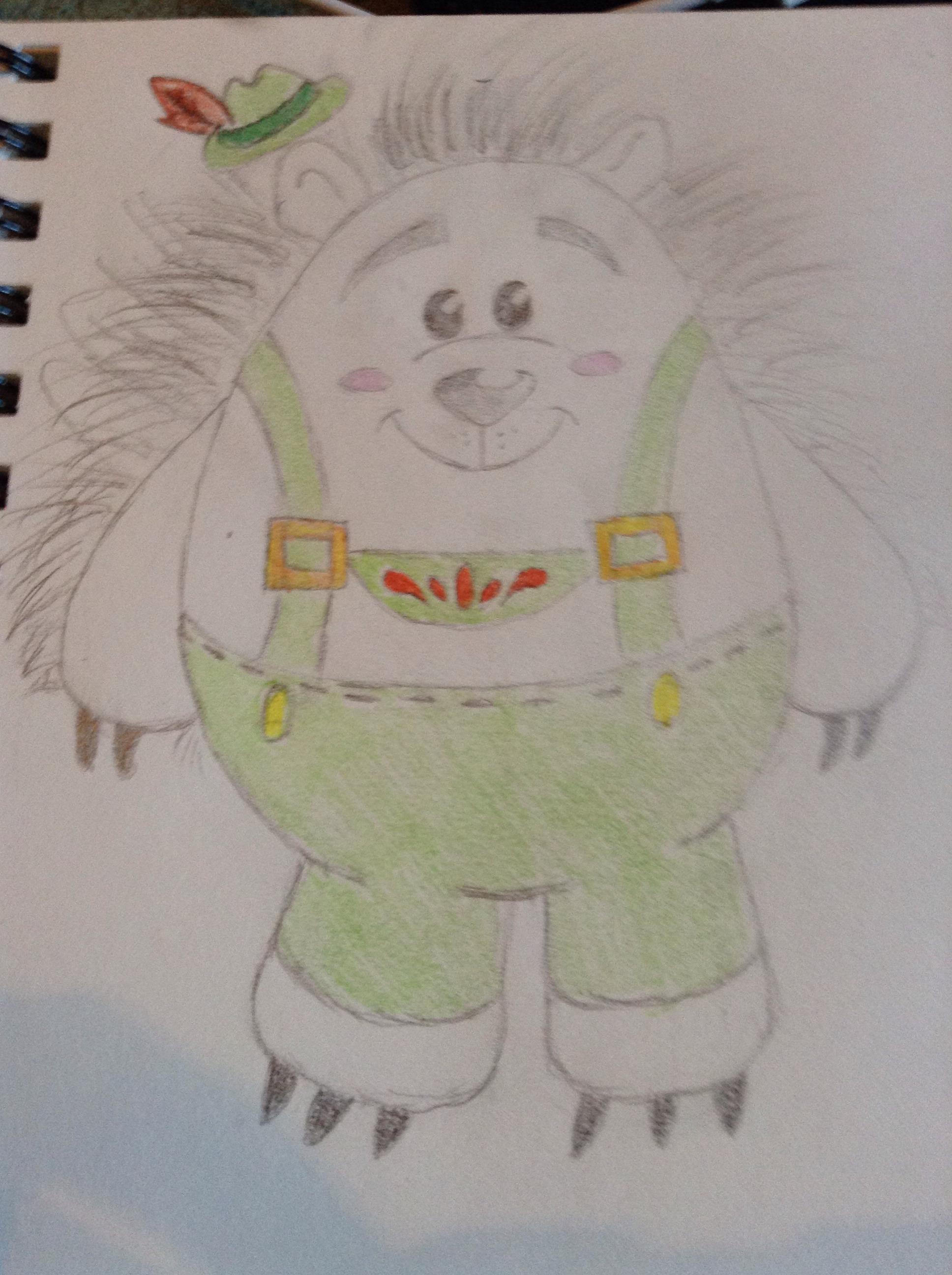 How To Draw Mr. Pricklepants