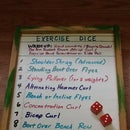 Roll the Dice Workout Planner