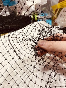 Constructing the Veil for the Headpiece