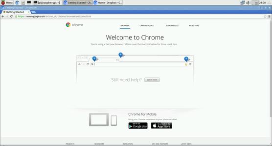 Install Chromium Browser