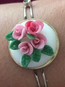 Polymerclay Rose Jewelry