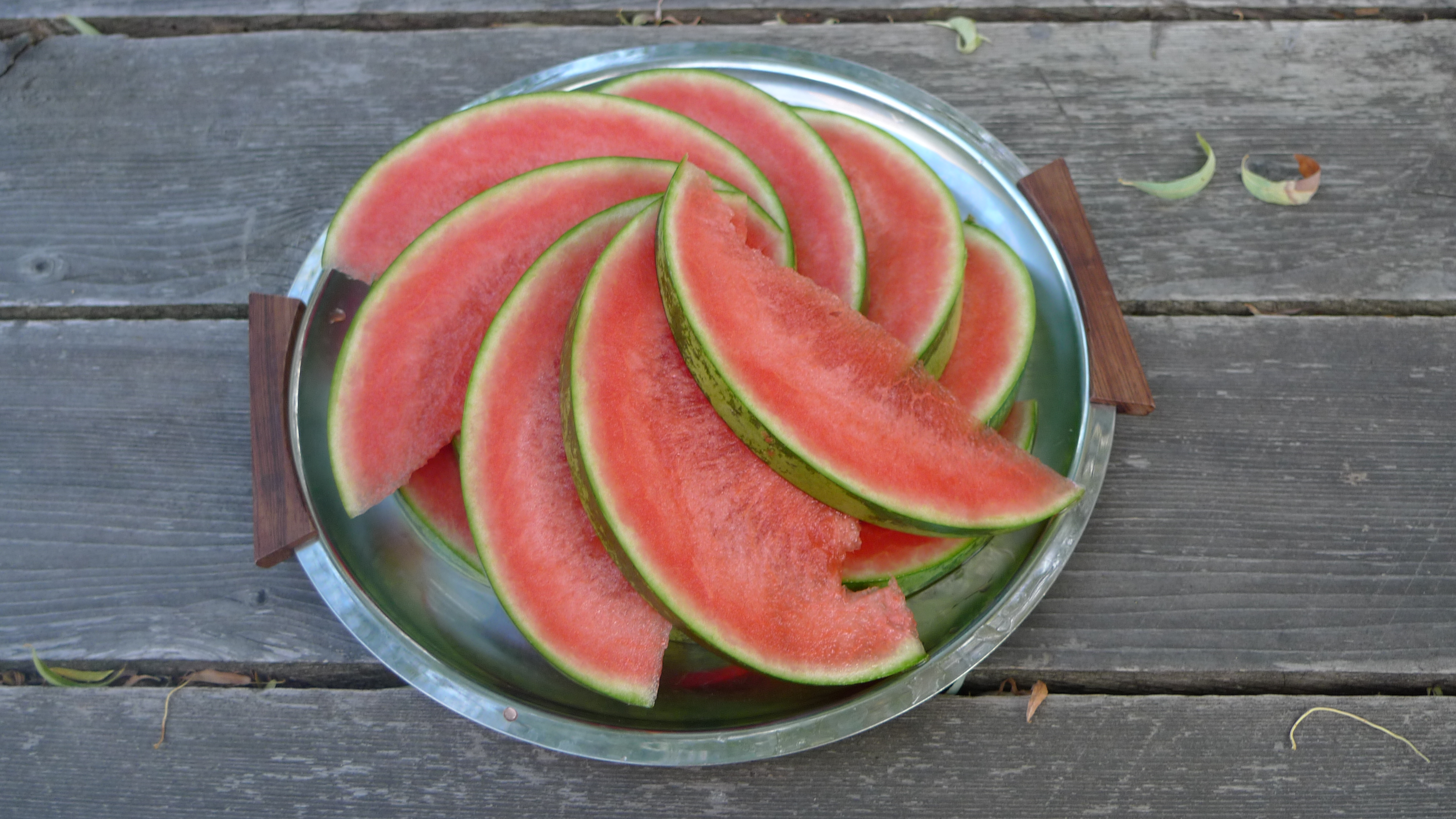 Spiral Watermelon Pattern