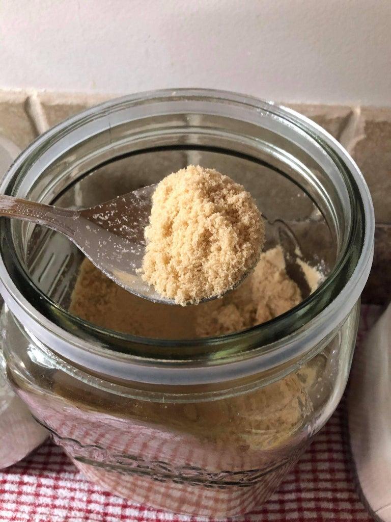 Lets Make Our  Easy Caramelizing Sugar Butter