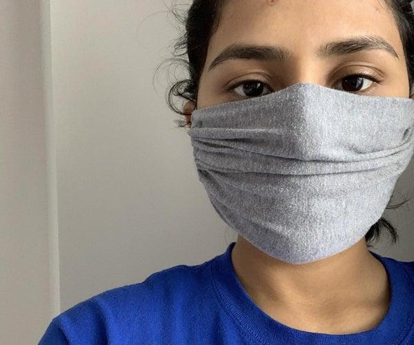 Adjustable No-Sew Mask