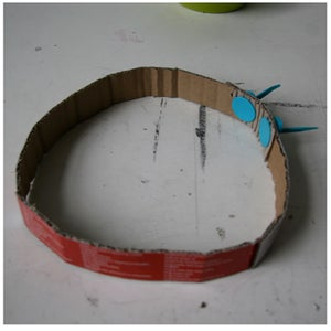 Parrot Hat: Making the Frame