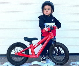 3D Printed Bike for Toddler (walking Bike)