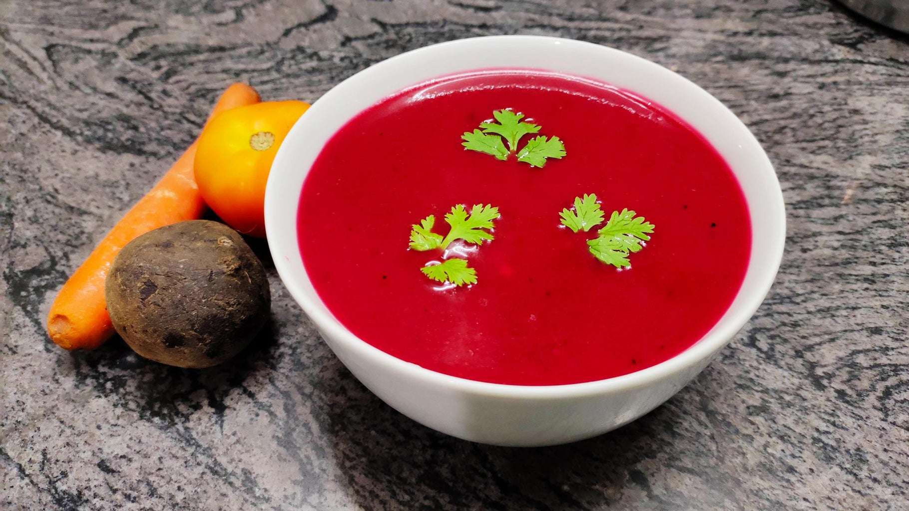 BeetRoot Soup Is Ready