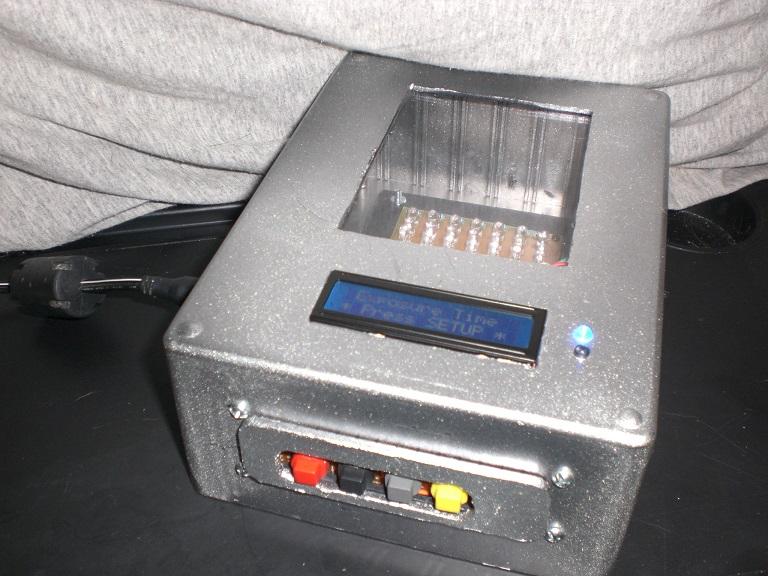 Arduino-controlled UV LED PCB Exposure Box