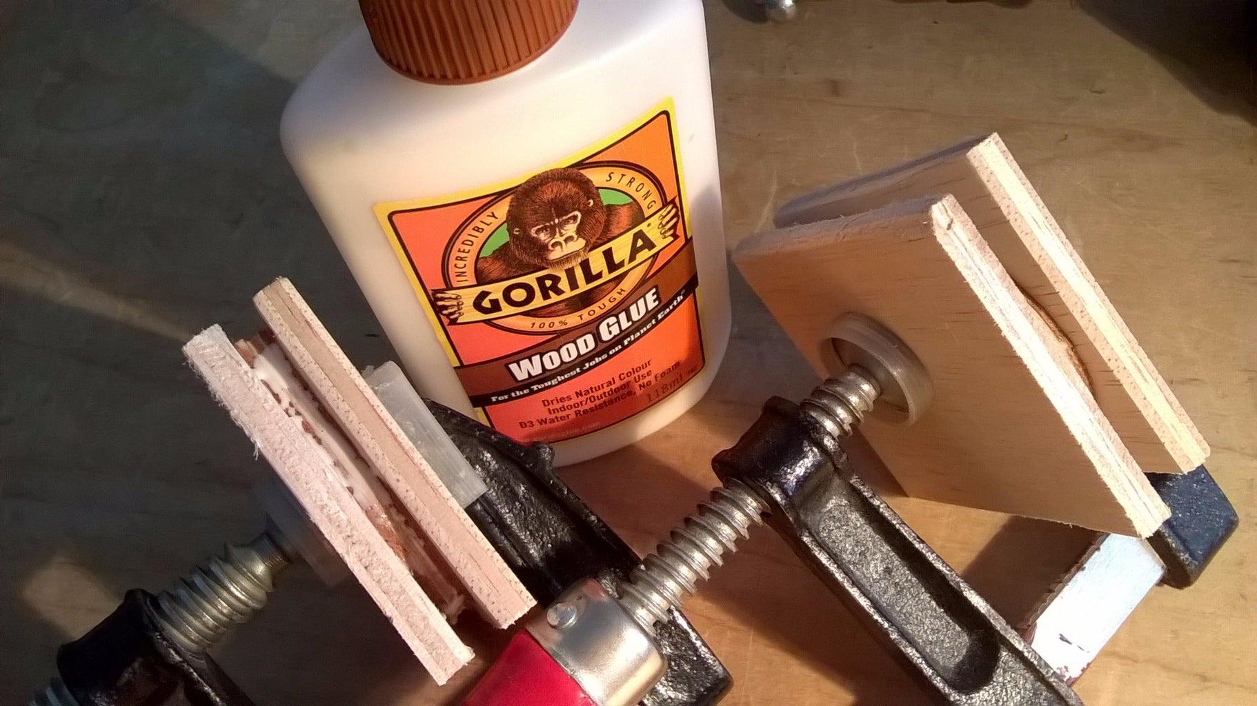 Glue Main Layers and Finish