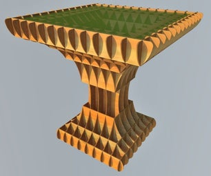A Lovely Table With Unique Design