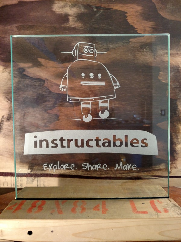 How to Create Your Own Frosted Glass Sign