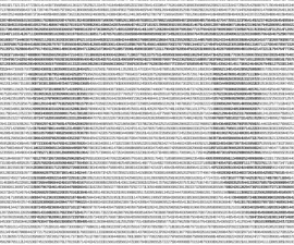 Pi Day Poster (made With the Digits of Pi)