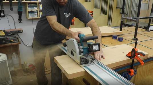 Cutting Shelves to Final Size
