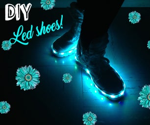 How to Make Led Shoes