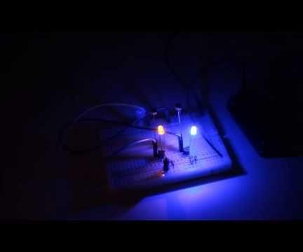 Dunkelheits - Richtungs Sensor DIY Anleitung