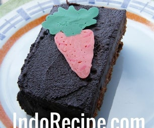 Chocolate Carrot Cake With Fudge Frosting