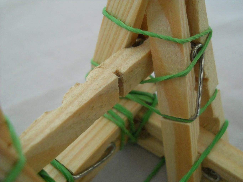 Finishing the Framework of the Catapult