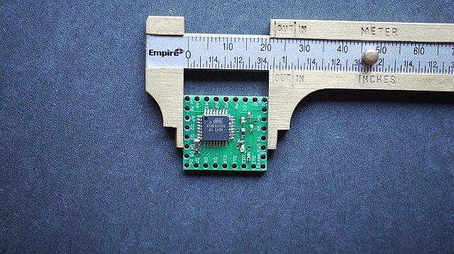 Make your own 1x1 22 IO pin Ardunio Compatible