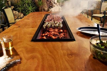 DIY Barbecue Table