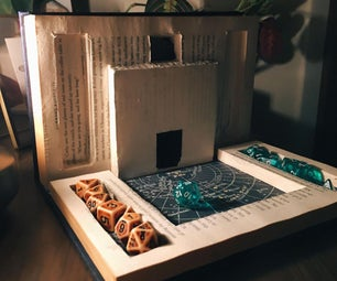 Fold Out Book Dice Tower