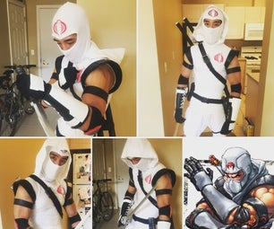 "How to Make a Cobra ""Storm Shadow"" Costume: Version 2.0"