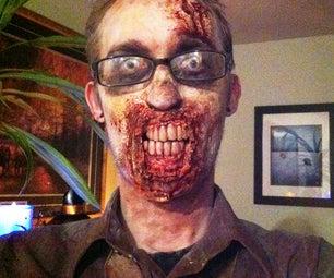 Custom Zombie Dentures With Non-SFX Materials
