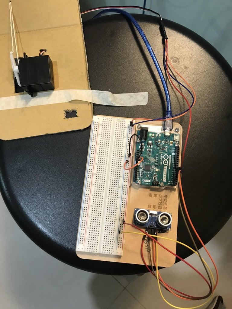 裝上電路及製作程式碼