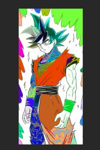 Colorize Goku