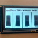 Nextion Display Interface With ESP 32 Four Relay Board