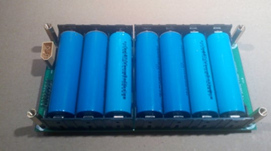 Power Packs - 18650 Lithium-Ion Battery Module.