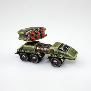 3D printed micro-war Tanks