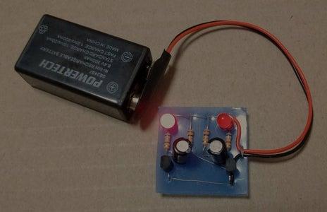 Transistor Blinking LEDs