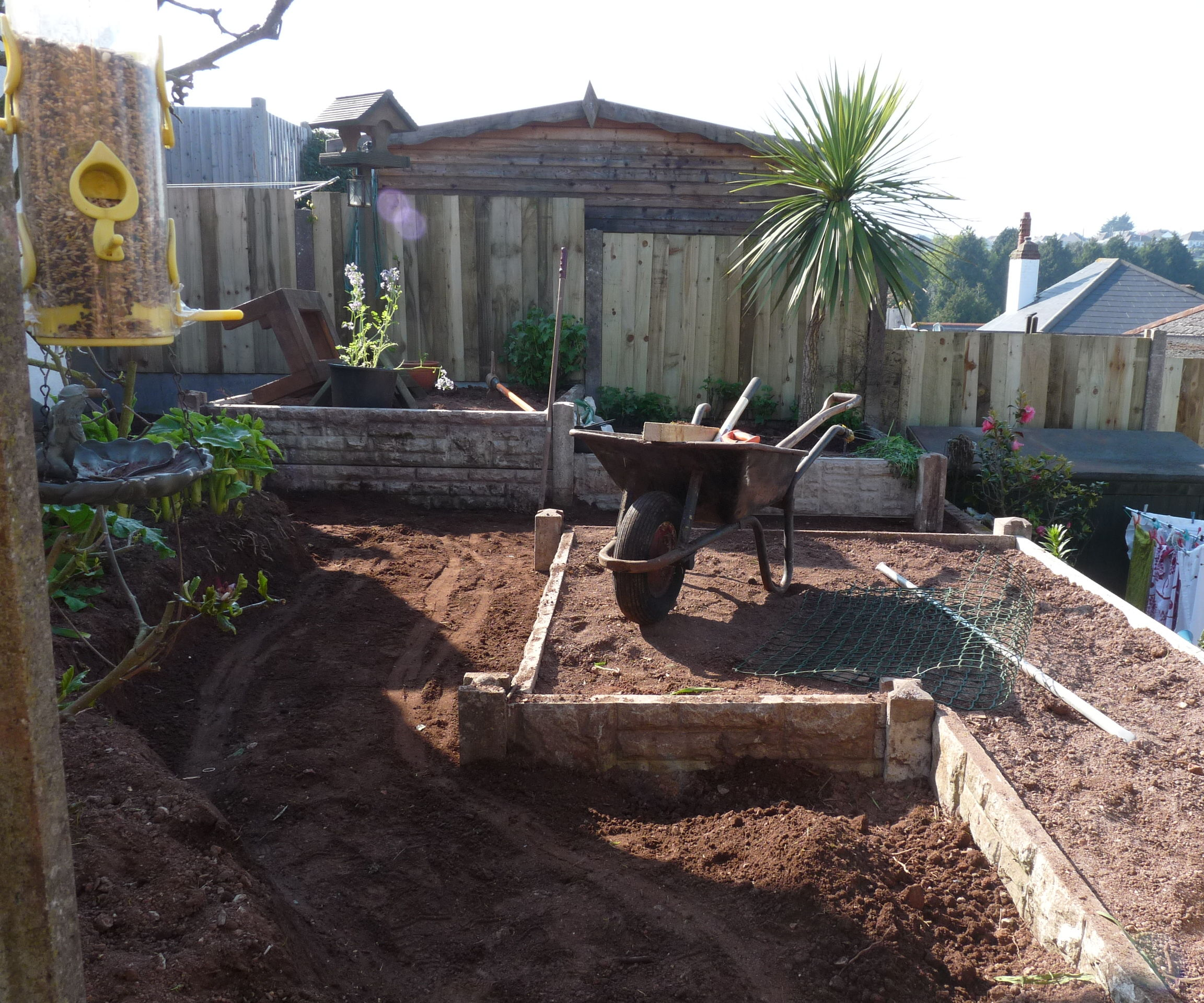 Affordable Raised Bed Garden Concrete Built To Last Producing Delicious Organic Vegetables
