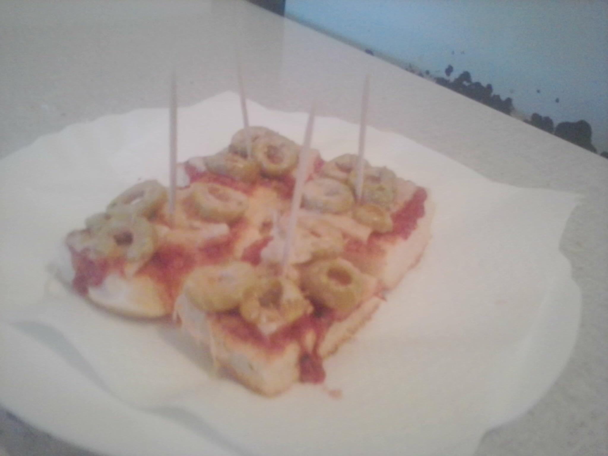Toast Pizza Snacks