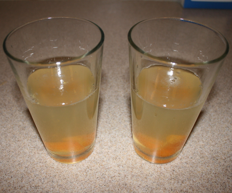 Honey Orange Syrup Soda