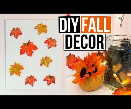 3 DIY Fall Room Decor Ideas You Can Make in 5 Minutes