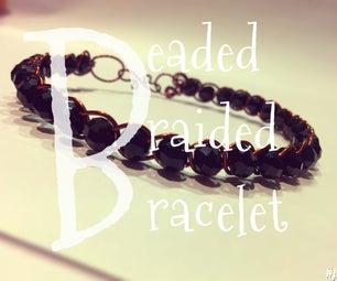 Easy Beaded Braided Bracelet