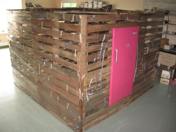 Pallet House to Save the World... or a Garden Shed.