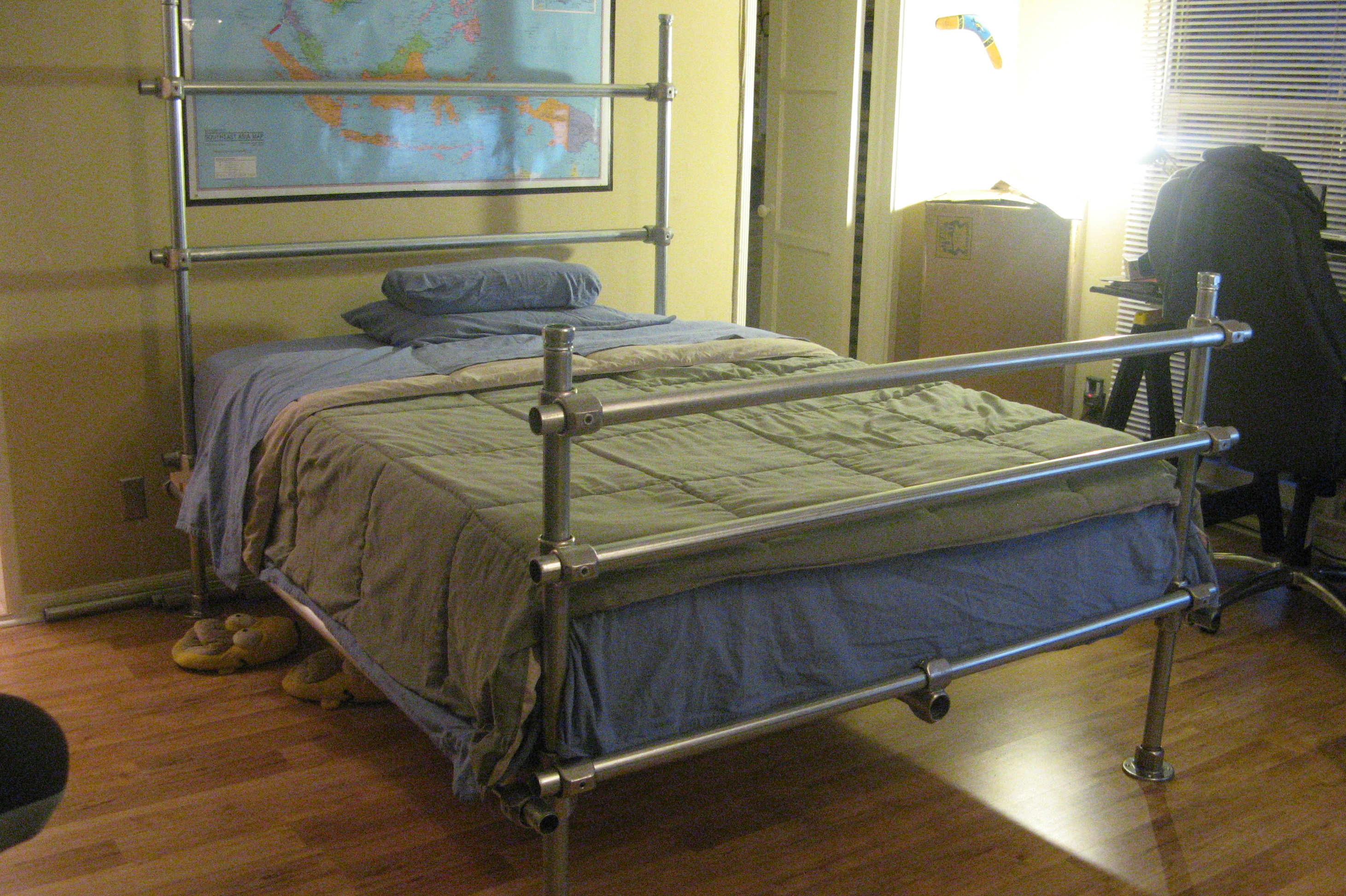Hybrid Pipe Bed