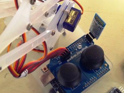 用MeArm學S4A(Prototype Arduino組裝篇)