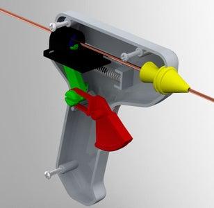 Glue-Gun Filler Rod Dispenser