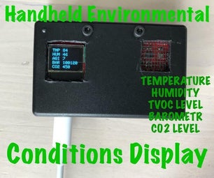 Handheld Environmental Conditions Display - V1