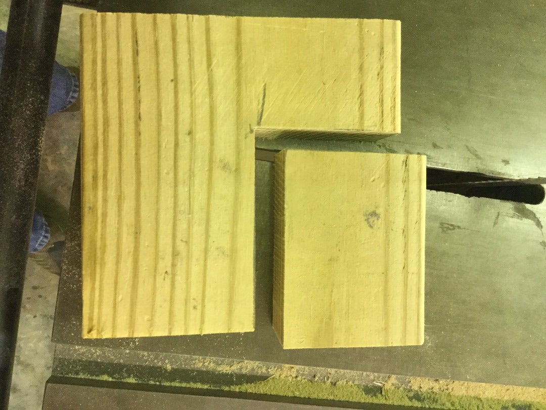Cut and Organize 2x4s to Fit As Desired