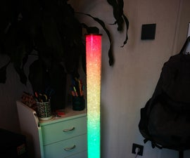 Glass Stone LED Tube (WiFi Controlled Through Smartphone App)