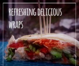 Refreshing Delicious Wraps