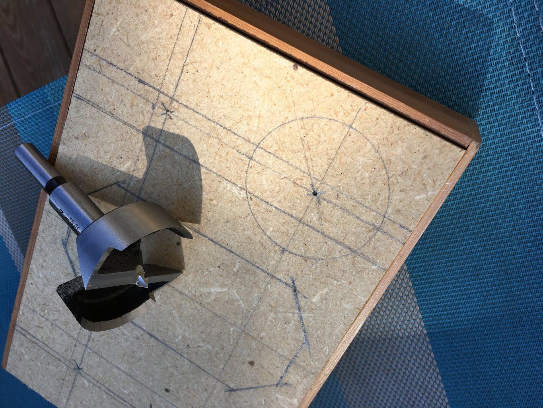 Cut Holes for Speaker and Passive Radiator