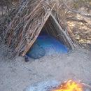 A-frame Survival Shelter