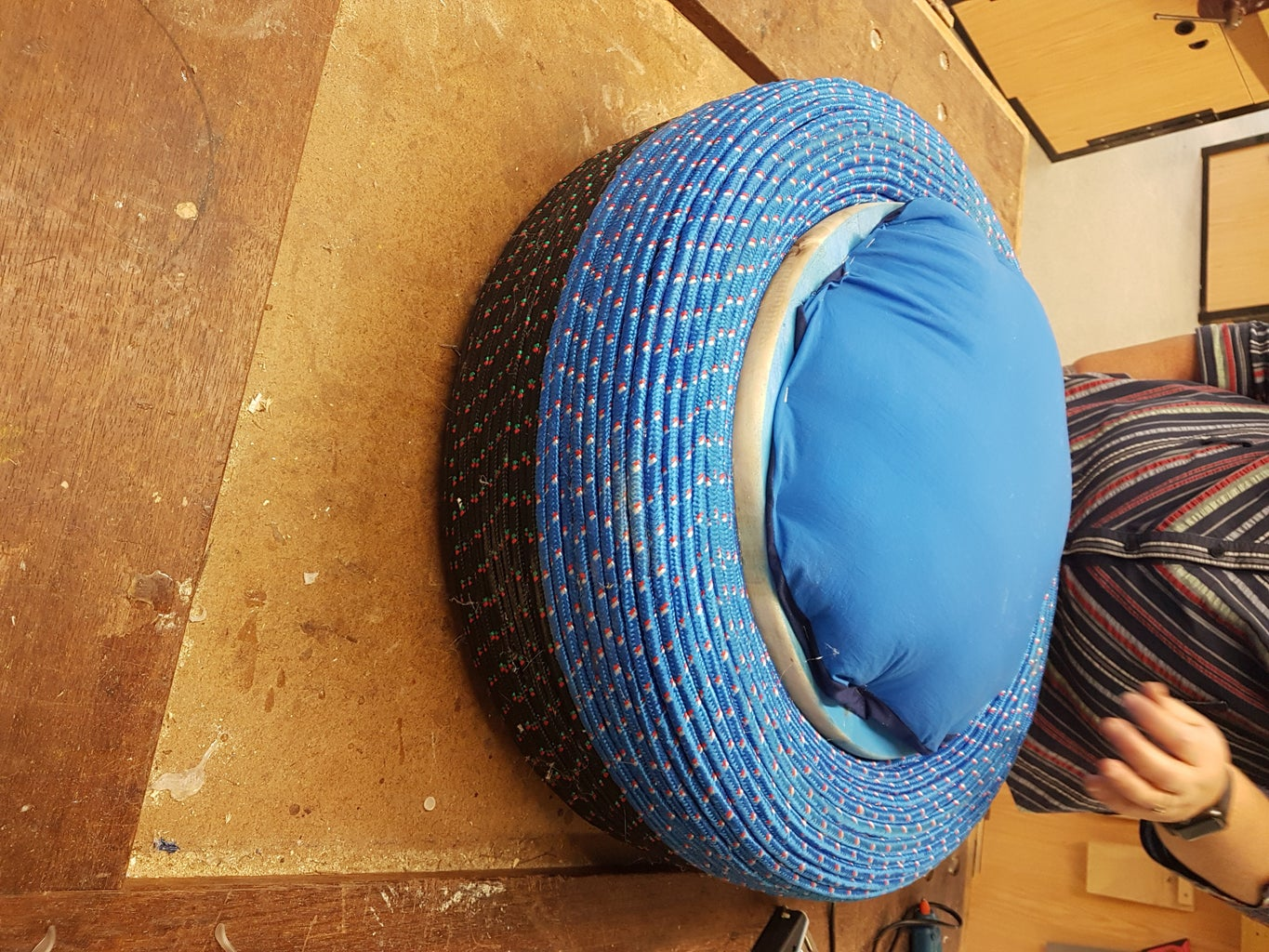 Repurposed Tyres Chairs
