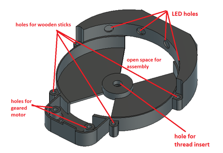 Designing the Bottom Part of the Stand